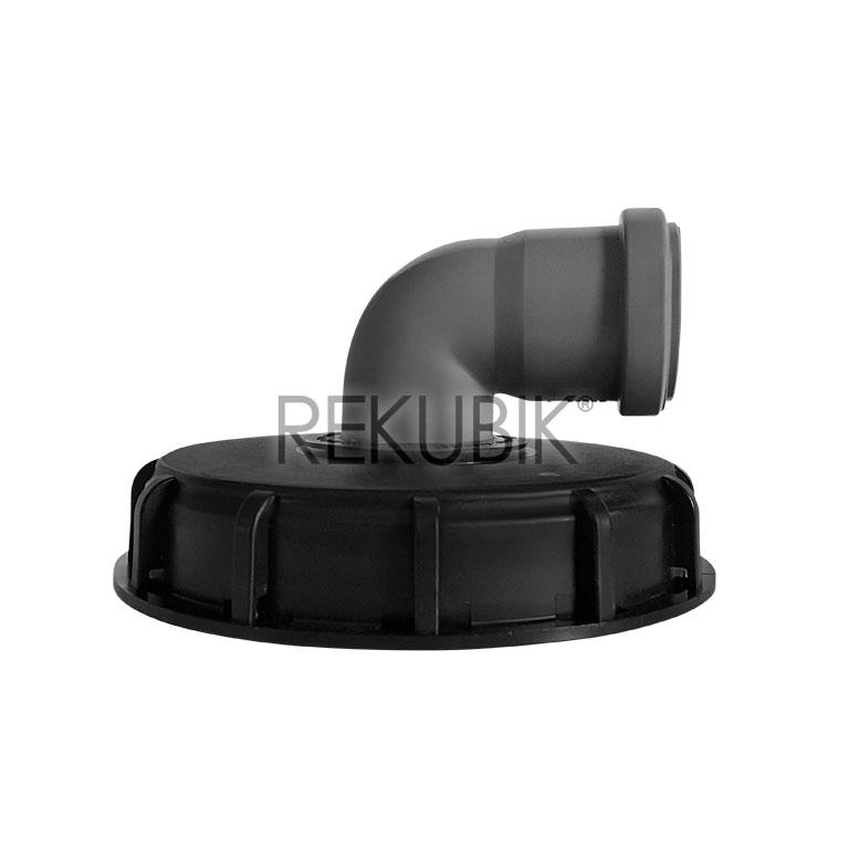 ibc deckel einlauf und deckel filter mit ht rohr oder bogen 87 in gr en dn 50 dn 75 dn 110. Black Bedroom Furniture Sets. Home Design Ideas