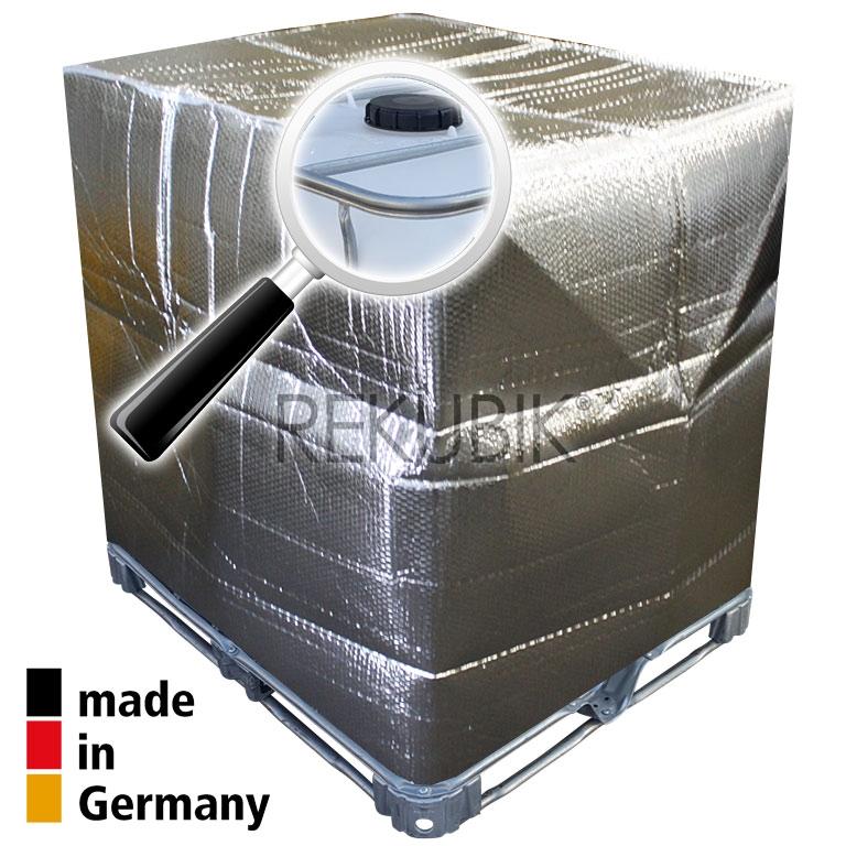 1000l ibc thermoschutzhaube frostschutz isolierung. Black Bedroom Furniture Sets. Home Design Ideas