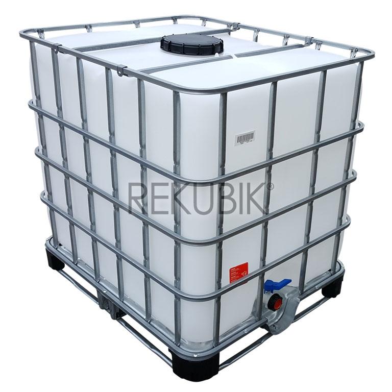 1000l ibc container mit neuen innenbeh lter nw225 On deckel ibc container