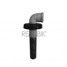 IBC Deckel Filter NW150 mit HT-Bogen 87� DN 75 (� 75mm)