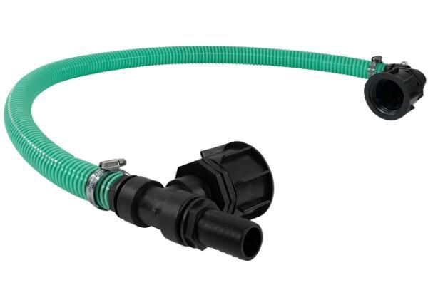 IBC Adapter S60x6 DN50 Sparset Tankverbindung Spiralschlauch