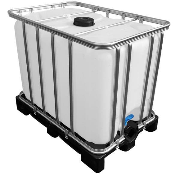 IBC Container auf Kunststoffpalette NEU 600 Liter lebensmittelecht
