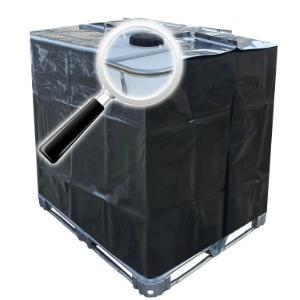 1000l IBC Schutzhülle UV-Folie in Schwarz