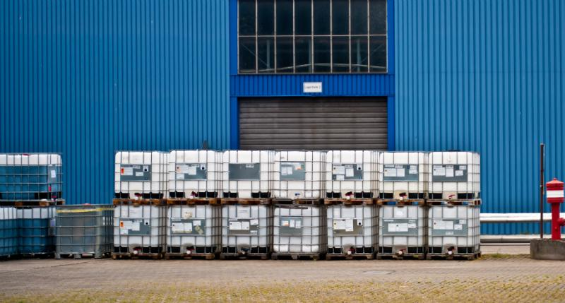 Für den Transport von Gefahrengut dürfen nur neue IBC Container verwendet werden