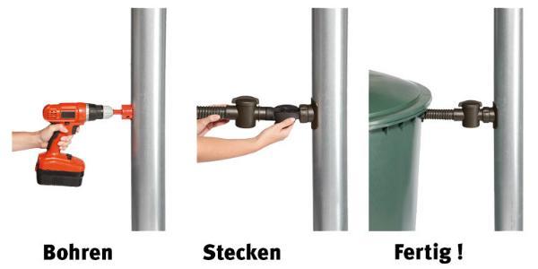 SPEEDY Regensammler DN 70-100 fuer Dachflaechen bis 80 Quadratmeter