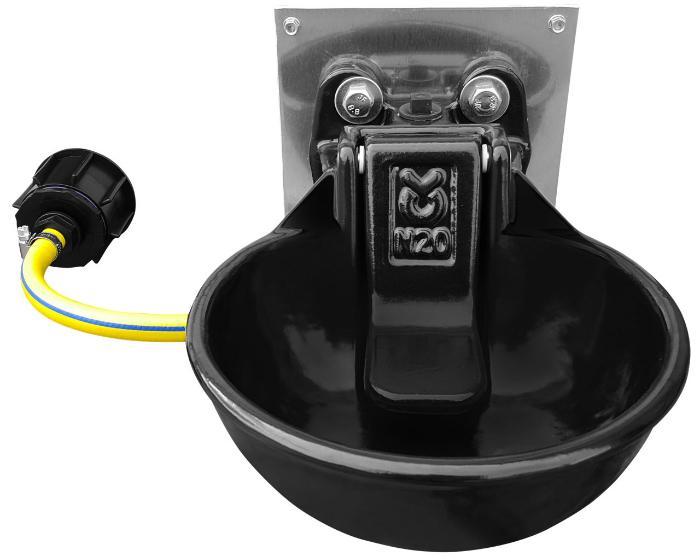 IBC Adapter S60x6 Pferdetraenke inklusive Anschlussset