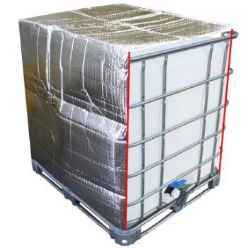 IBC Thermohaube mit Reissverschluss 1000 Liter