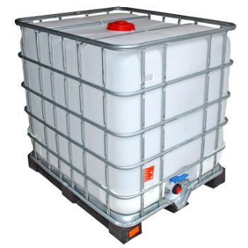 IBC Wassertank gespuelt Kunststoffpalette 1000 Liter