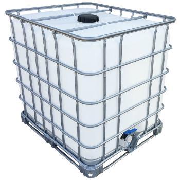 IBC Wassertank gespuelt Stahlpalette 1000 Liter
