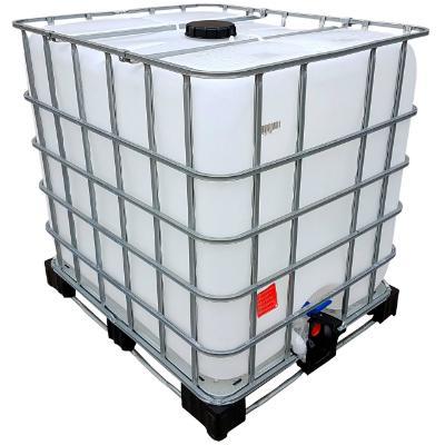 Rebottled IBC Container auf Kombi-Palette 1000 Liter lebensmittelecht