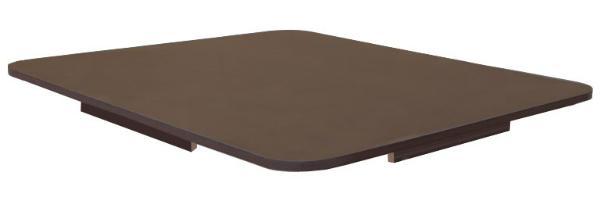 Tischplatte fuer IBC LED Kubik als Stehtisch Tank