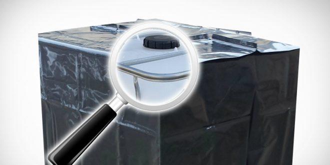 Fabelhaft Wassertank Schutzhülle für 1000 Liter Behälter - REKUBIK® Magazin &VF_33