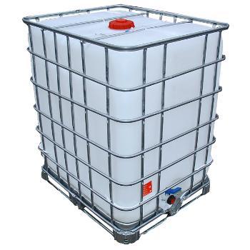 Neuer IBC Container auf Stahlpalette 1250 Liter