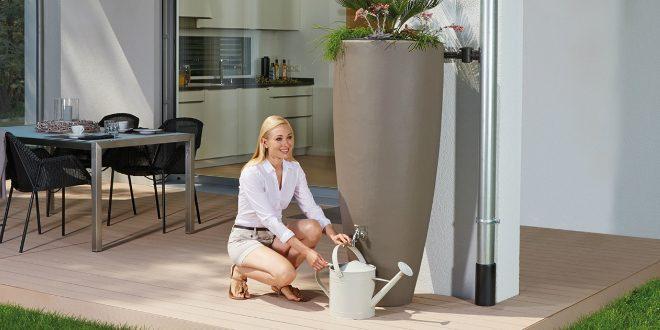 Wasserfass Aus Kunststoff Für Die Bewässerung Rekubik Magazin