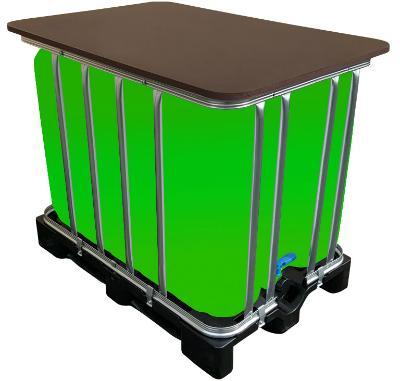 600l IBC LED Kubik® Stehtisch, EEK: A (A+++ bis D)