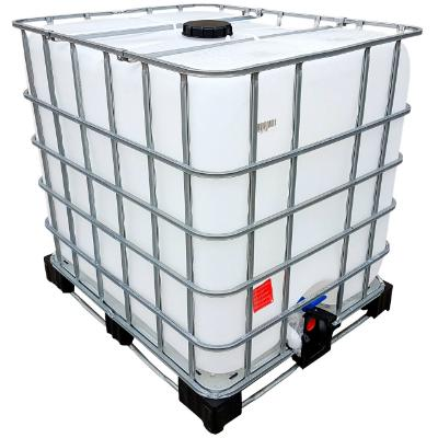 1000l IBC Container Rebottled auf Kombi-Palette