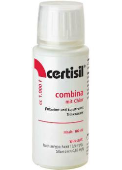 100ml Wasserdesinfektion flüssig Certisil® Combina