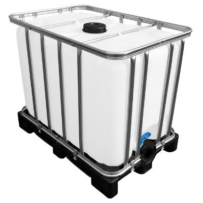 600l IBC Container auf Kunststoffpalette