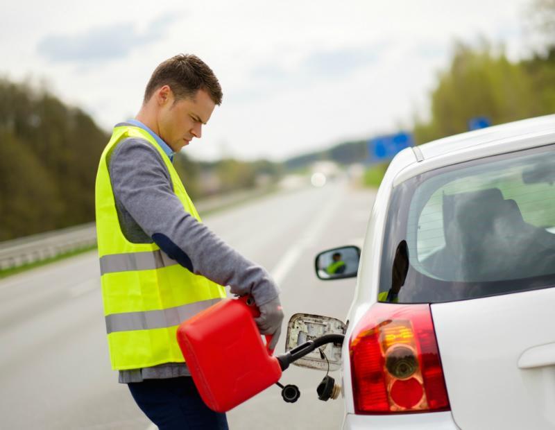 Benzin im Kanister