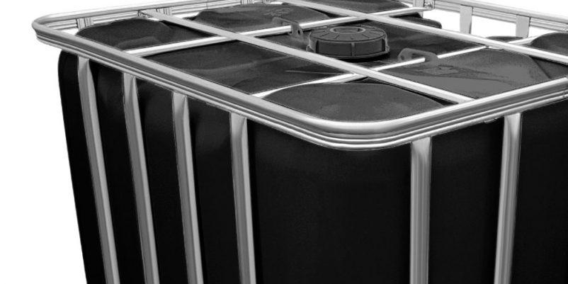 ibc container in schwarz rekubik magazin. Black Bedroom Furniture Sets. Home Design Ideas