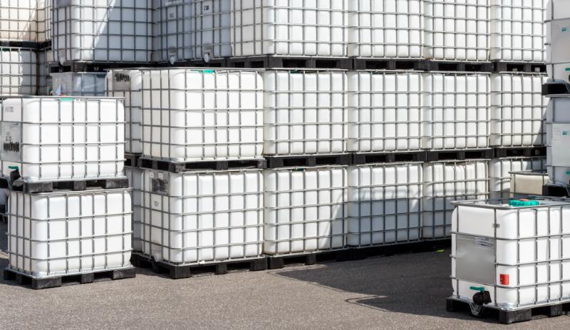 Transport und Lieferung mit IBCs