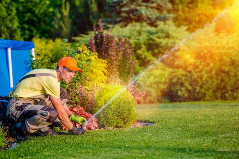 Gartenbewaesserungssystem