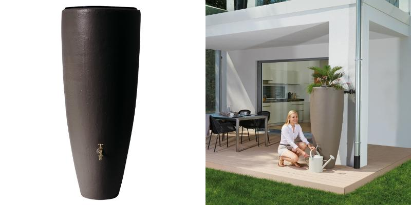 300l-Design-Regentonne-2in1-Wasserbehalter-mit-Pflanzschale-in-mocca-horz