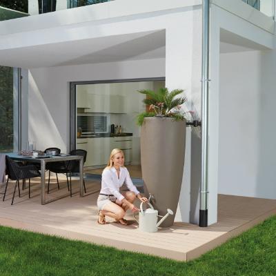 300l-design-regentonne-2in1-wasserbehaelter-mit-pflanzschale