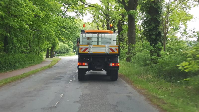 Baufahrzeug-IBC-Container