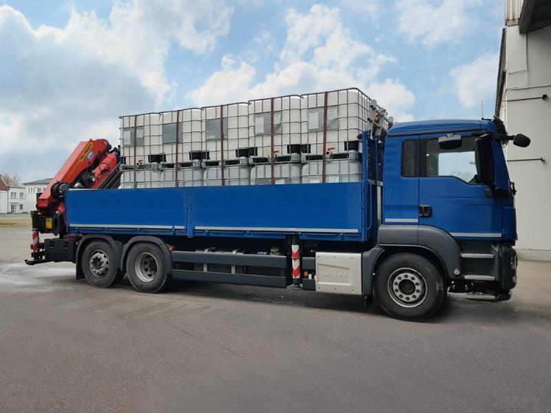 Ladungssicherung IBC Container