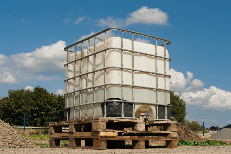 Tank fuer Bauwasser