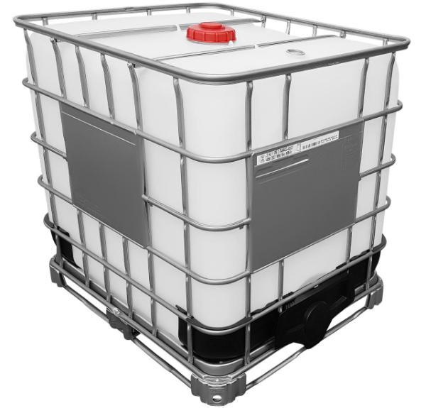 1000l IBC Container UN-Zulassung mit Steigrohr (CDS) auf Stahlpalette NEU
