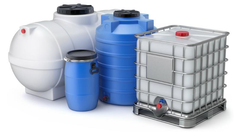 Wasserspeicher-Kunststoff