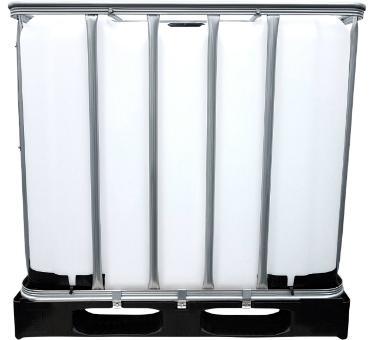1000l IBC Container für AdBlue® (CDS) auf Kunststoffpalette NEU