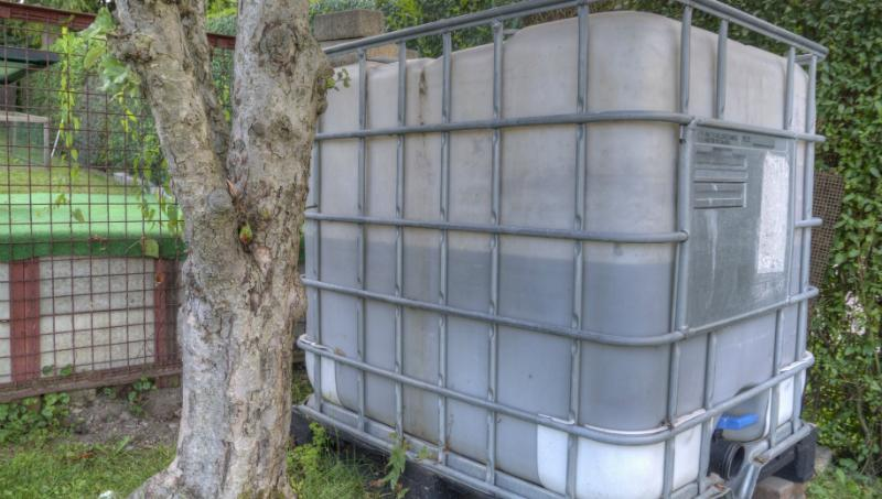 Turbo IBC Container mit Holz verkleiden - REKUBIK® Magazin OD54