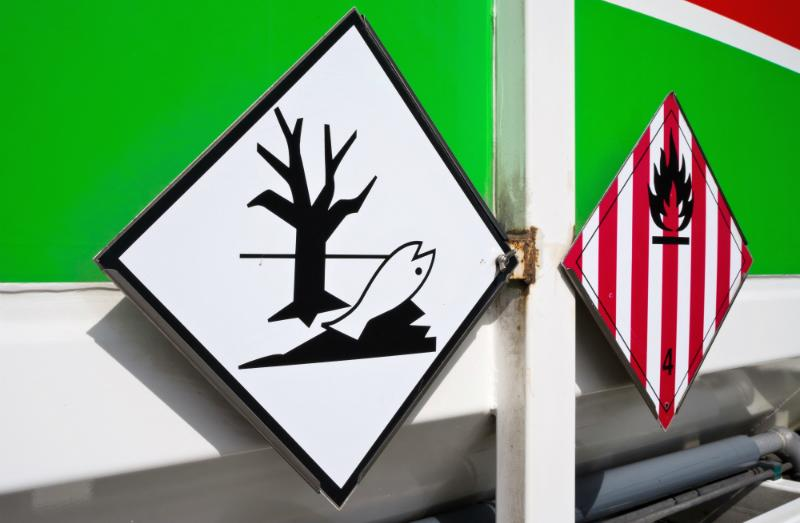 Symbole für Gefahrstoffe