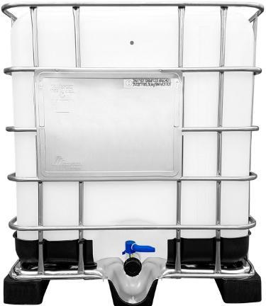 1000l IBC Container UN-Zulassung auf Kunststoffpalette NEU