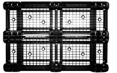 Kunststoff Europalette ECO (mit Rand) 1200 x 800 mm