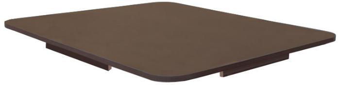 Tischplatte für IBC Container als Stehtisch