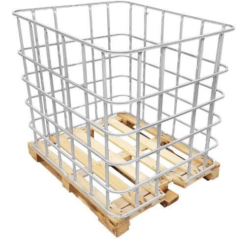 ibc-gitterbox-auf-holzpalette
