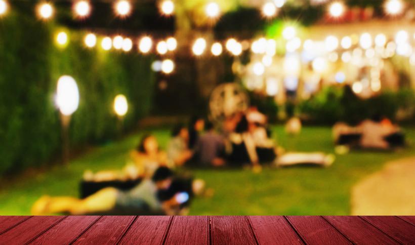 Die IBC Bar ist ideal für die nächste Gartenparty