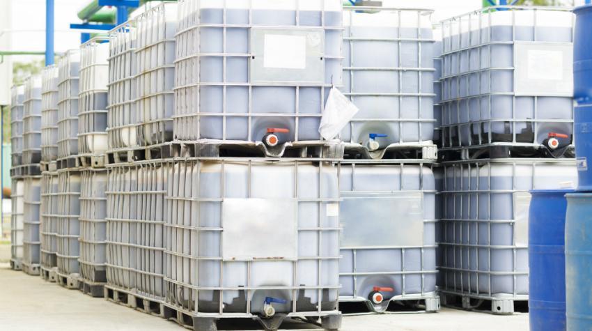IBC Container sind ebenfalls gut zur Lagerung von Lebensmitteln geeignet
