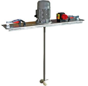 IBC Rührwerk Schnellmischer mit E-Antrieb 600 m/Pas.