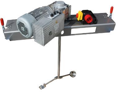 IBC Schneckengetrieberührwerk mit E-Antrieb 10000 m