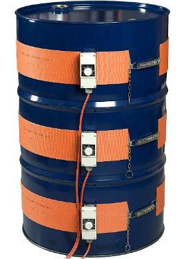 Fassheizer 0 bis 120ºC Silikonkautschuk Fassgürtel (230V)