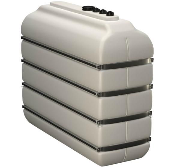 Lagertank für AdBlue® (Bandagen) mit Einlaufstutzen