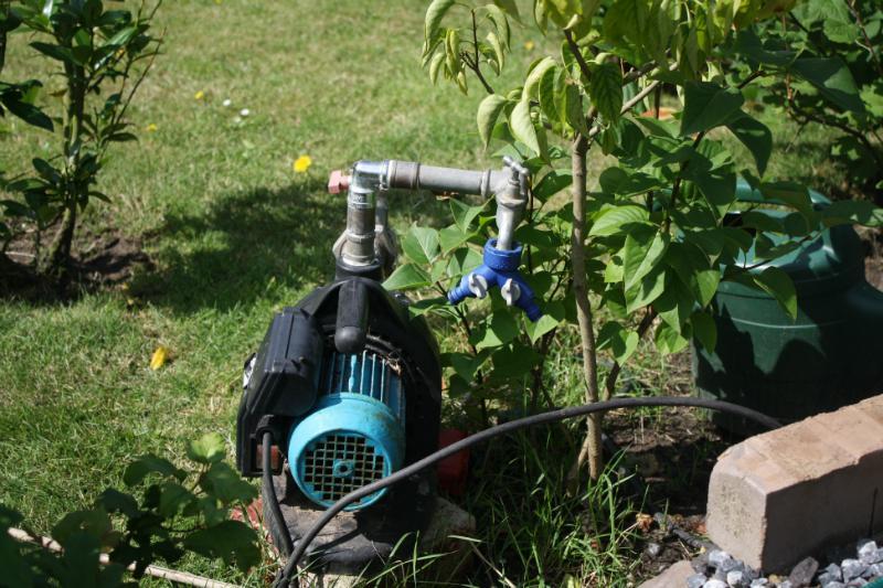Elektrische Pumpe zur Förderung von Grundwasser