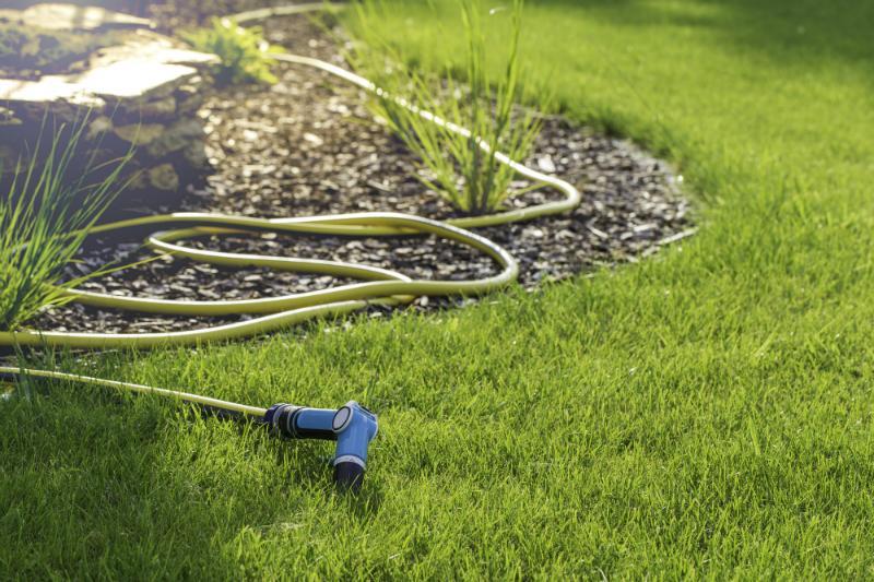 Schlauch zur Gartenbewässerung