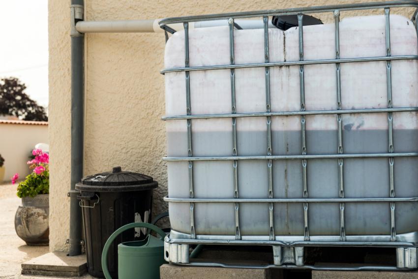IBC zur Regenwassernutzung