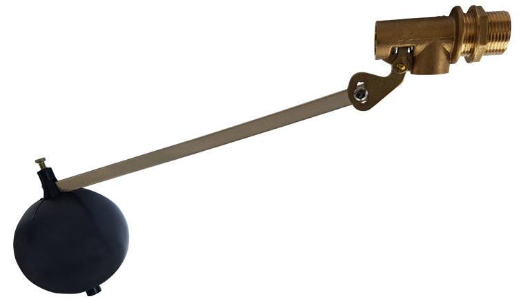 Messing Schwimmerventil Außengewinde mit Niveauregulierung und PVC-Kugel